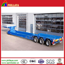 Equipment Transport Detachable Gooseneck Front Loading Lowbed Hydraulic Semi Trailers